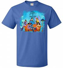 Buy Super Friends Unisex T-Shirt Pop Culture Graphic Tee (5XL/Royal) Humor Funny Nerdy Ge