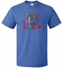 Buy Phantom Of The Empire Fett Unisex T-Shirt Pop Culture Graphic Tee (M/Royal) Humor Fun