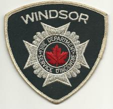Buy Windsor Fire Department Canada Patch Firefighters Service