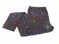 Buy Women Sueded Leggings Diamond Combo Print Super Soft Sueded SIZE XL Inseam 29