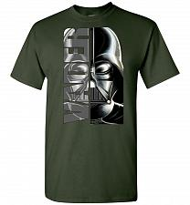 Buy Vader Unisex T-Shirt Pop Culture Graphic Tee (2XL/Forest Green) Humor Funny Nerdy Gee