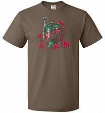 Buy Phantom Of The Empire Fett Unisex T-Shirt Pop Culture Graphic Tee (XL/Chocolate) Humo