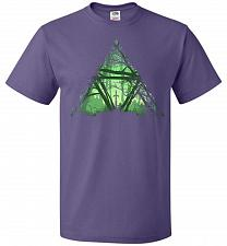 Buy Treeforce Unisex T-Shirt Pop Culture Graphic Tee (4XL/Purple) Humor Funny Nerdy Geeky
