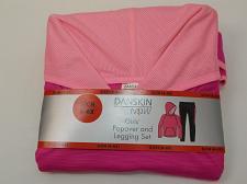 Buy Girls 2PC Legging Popover Set DANSKIN Pink Size S 6-6X Hooded Long Sleeve Pocket