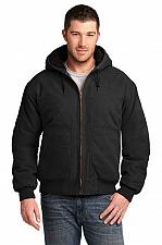 Buy CornerStone® Men's CSJ41 Washed Duck Cloth Insulated Hooded Work Jacket SM - 6X