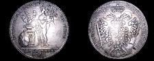 Buy 1765 SS-GNR German States Nurnberg 1 Thaler World Silver Coin