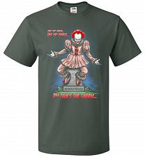 Buy Pennywise The Dancing Clown Adult Unisex T-Shirt Pop Culture Graphic Tee (4XL/Forest