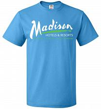Buy Billy Madison Hotels & Resorts Adult Unisex T-Shirt Pop Culture Graphic Tee (XL/Pacif