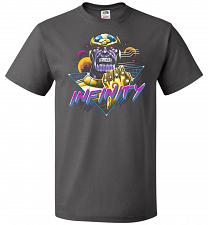 Buy Infinity Unisex T-Shirt Pop Culture Graphic Tee (6XL/Charcoal Grey) Humor Funny Nerdy