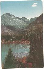 Buy Longs Peak Nymph Lake Rocky Mountain Park Colorado Postcard