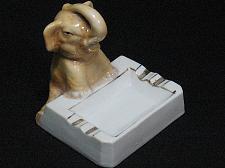 Buy Porcelain Elephant Figural Ashtray Snuffer Japan Vintage