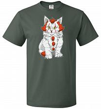 Buy kITten Unisex T-Shirt Pop Culture Graphic Tee (6XL/Forest Green) Humor Funny Nerdy Ge
