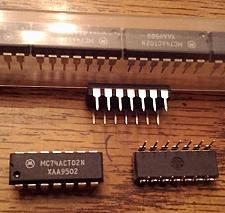 Buy Lot of 25: Motorola MC74ACT02N