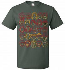 Buy Game Of Throne Heads Minimalism Adult Unisex T-Shirt Pop Culture Graphic Tee (4XL/For
