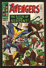Buy AVENGERS #32 VG- Marvel Comics 1st Series 1966 STAN LEE 1st Son's of the Serpent