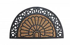 Buy *17938U - Half Moon Fancy Welcome Ruber & Coir Door Mat