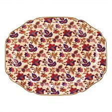 Buy 15000U - Jaipur Cream Floral Serving Platter