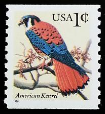 Buy 1996 1c American Kestrel, Coil Scott 3044 Mint F/VF NH
