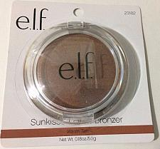 Buy e.l.f. Cosmetics Sunkissed Glow Bronzer~ Warm Tan~ 0.18 oz ~Contours ~ NIP
