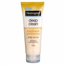 Buy Neutrogena Deep Clean Blackhead Eliminating Daily SCRUB Facial Foam 100 grams