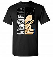 Buy Vegeta Unisex T-Shirt Pop Culture Graphic Tee (3XL/Black) Humor Funny Nerdy Geeky Shi