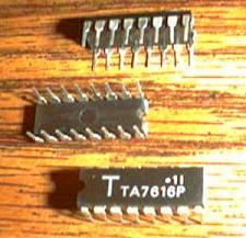 Buy Lot of 6: Toshiba TA7616P