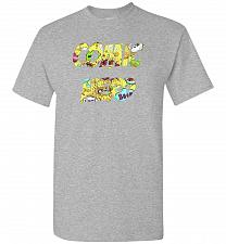 Buy Comic Nerd Unisex T-Shirt Pop Culture Graphic Tee (3XL/Sports Grey) Humor Funny Nerdy