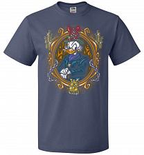 Buy Scrooge McDuck A Miserly Portrait Adult Unisex T-Shirt Pop Culture Graphic Tee (M/Den