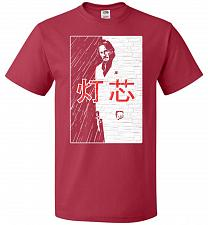 Buy John Wick Scarface Mashup Adult Unisex T-Shirt Pop Culture Graphic Tee (2XL/True Red)