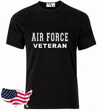 Buy Air Force T Shirt VETERAN USAF USMC US Army Navy Marines Military