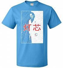 Buy John Wick Scarface Mashup Adult Unisex T-Shirt Pop Culture Graphic Tee (M/Pacific Blu