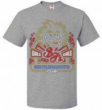 Buy Bjs Gentleghost's Club Adult Unisex T-Shirt Pop Culture Graphic Tee (2XL/Athletic Hea