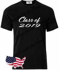 Buy Class of 2019 T Shirt Senior Graduation Small - 6X (16 Tee Colors)