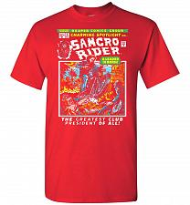 Buy Born Leader Samcro Rider Unisex T-Shirt Pop Culture Graphic Tee (4XL/Red) Humor Funny