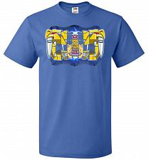 Buy Yellow Ranger Unisex T-Shirt Pop Culture Graphic Tee (4XL/Royal) Humor Funny Nerdy Ge