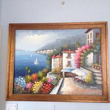 "Buy Ocean Beauty! Mediterranean painting by Rossini approximately 43"" X 56"""