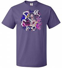 Buy Gear 4 Unisex T-Shirt Pop Culture Graphic Tee (L/Purple) Humor Funny Nerdy Geeky Shir
