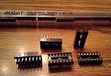 Buy Lot of 30: Augat 216AG390C :: 16 Pin Sockets