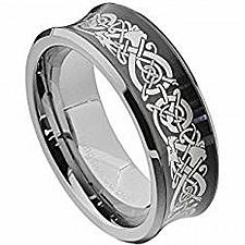 Buy coi Jewelry Titanium Dragon Wedding Band Ring