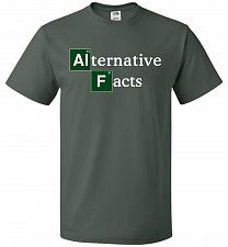 Buy Alternative Chemical Symbol Unisex T-Shirt Pop Culture Graphic Tee (3XL/Forest Green)