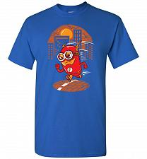 Buy Flash Minion Unisex T-Shirt Pop Culture Graphic Tee (4XL/Royal) Humor Funny Nerdy Gee