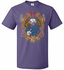 Buy Scrooge McDuck A Miserly Portrait Adult Unisex T-Shirt Pop Culture Graphic Tee (4XL/P