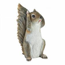 Buy *18247U - Hear No Evil Grey Squirrel Figure Garden Statue