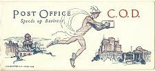 Buy Vintage Ink Blotter Post Office COD Speeds up Business Unmarked Unusued