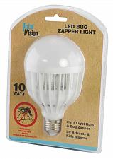 Buy :10688U - LED Bug Zapper & Light Bulb White Frame