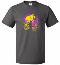 Buy Dragneel Art Unisex T-Shirt Pop Culture Graphic Tee (XL/Charcoal Grey) Humor Funny Ne