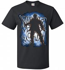 Buy Jason Voorhees Killer Mommy Adult Unisex T-Shirt Pop Culture Graphic Tee (M/Black) Hu