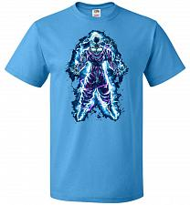 Buy Piccolo Unisex T-Shirt Pop Culture Graphic Tee (4XL/Pacific Blue) Humor Funny Nerdy G