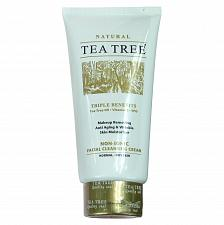Buy Tea Tree Natural Non Ionic Facial Cleansing Cream Makeup Remover 140ml