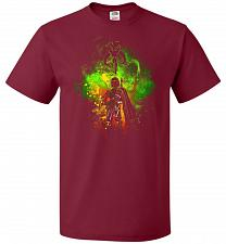 Buy Mandalore Art Unisex T-Shirt Pop Culture Graphic Tee (M/Cardinal) Humor Funny Nerdy G